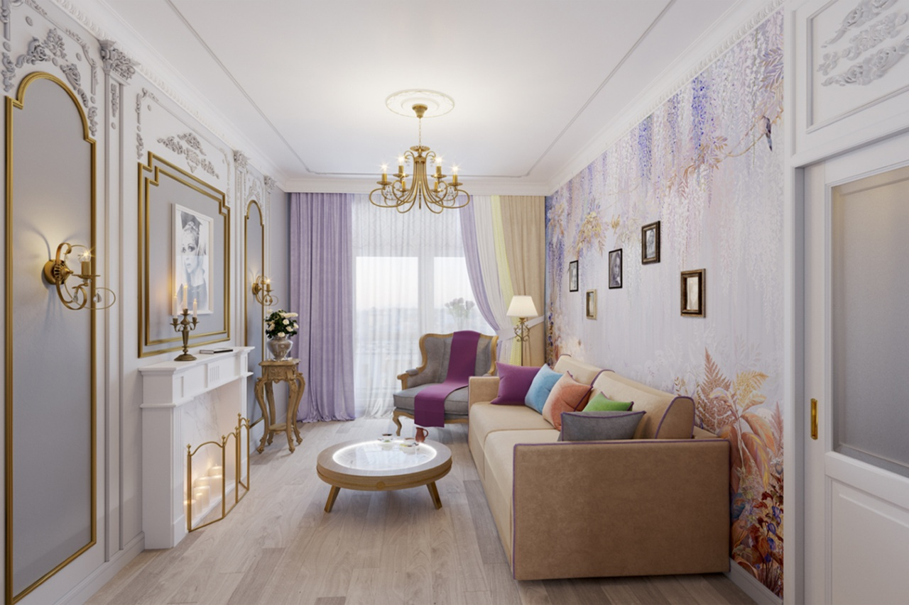 "Natalia Sedykh's living room, Exclusive catalog, ""Idealny remont"", the First Channel"