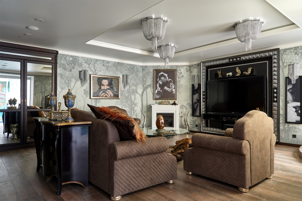 "Philip Kirkorov House, Exclusive catalog, ""Idealny remont"", the First Channel"