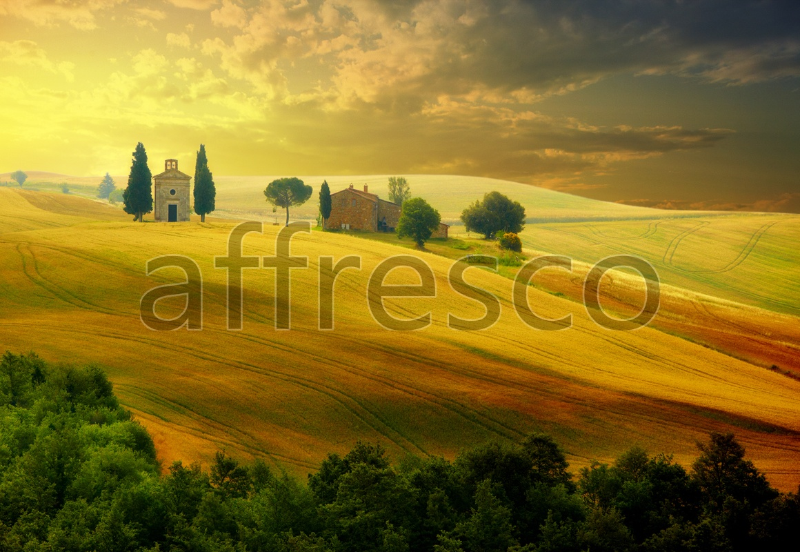 ID12079 | Pictures of Nature  | Rural sunset | Affresco Factory