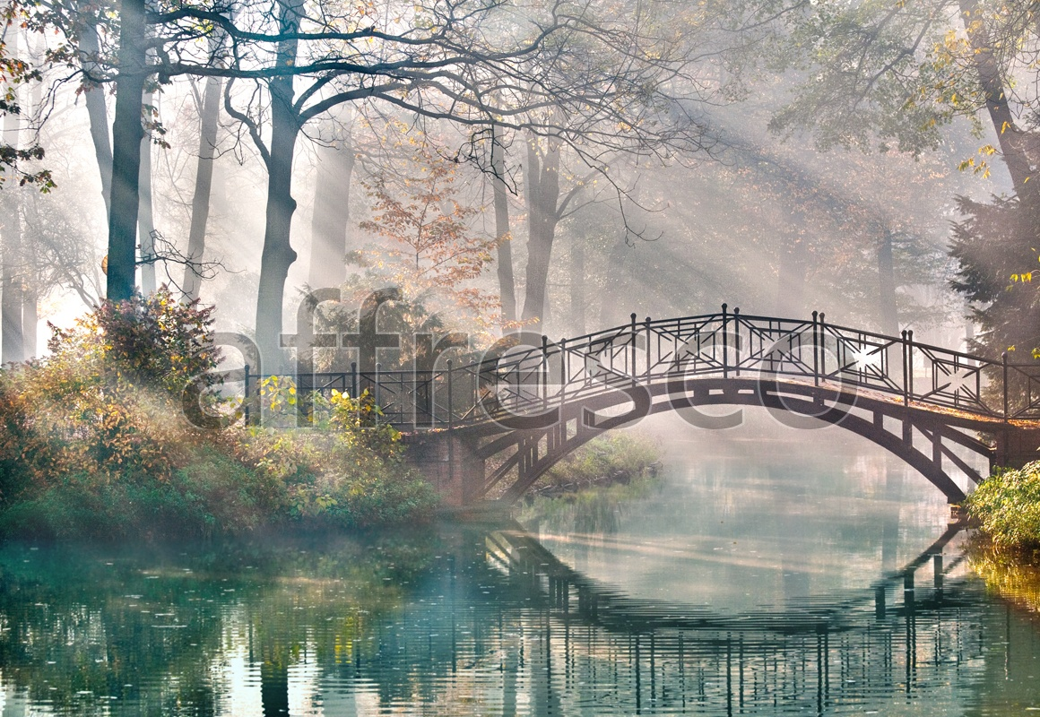 ID10891 | Pictures of Nature  | Bridge across the river | Affresco Factory