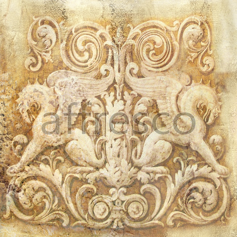 5011 | Classic Ornaments | ornament with griffon | Affresco Factory