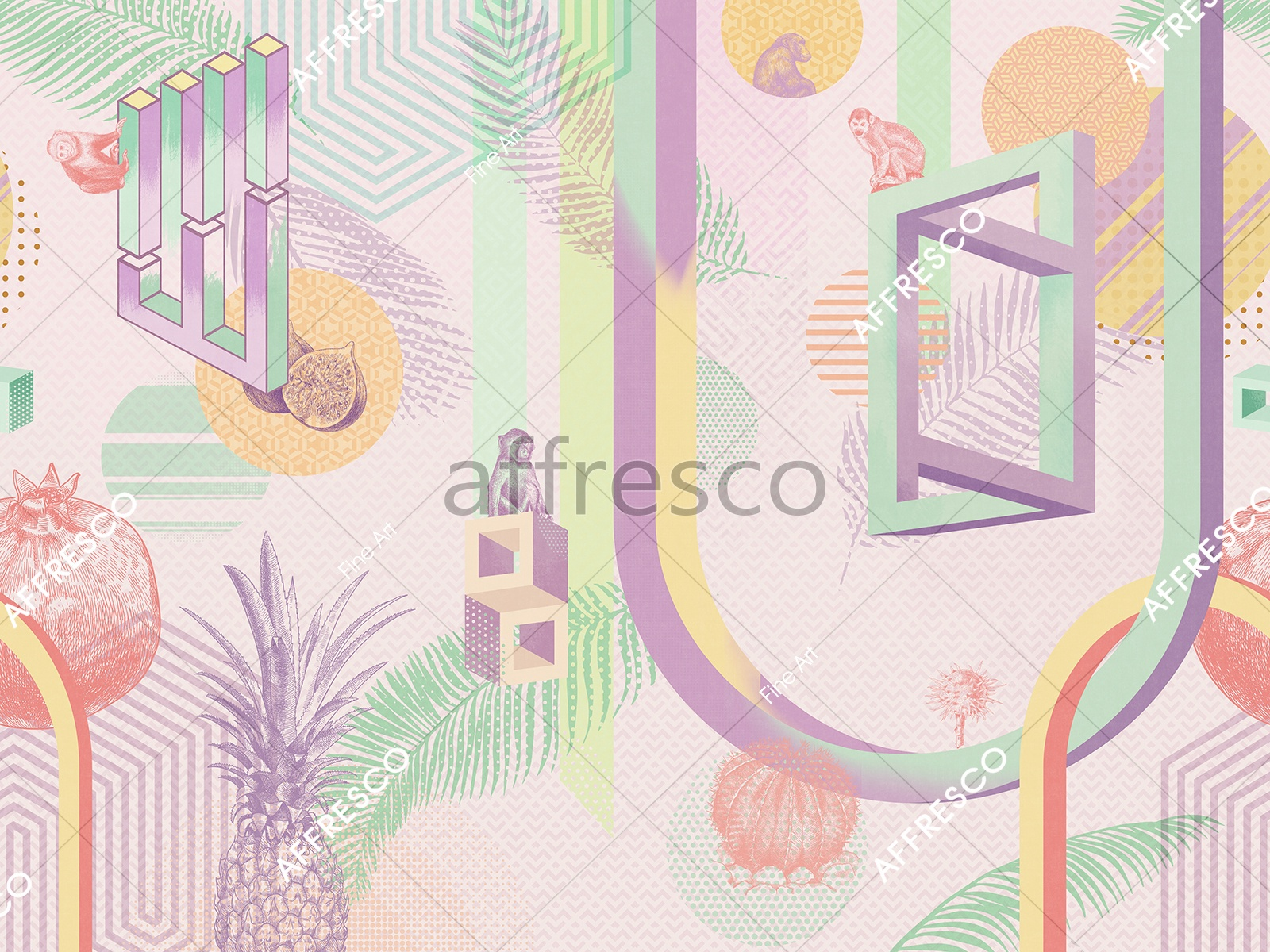 RE890-COL4 | Fine Art | Affresco Factory