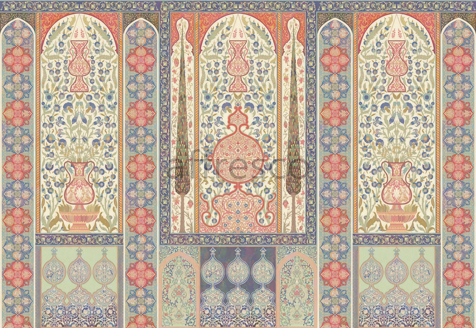 ID135709 | Oriental Ornaments | Восточный мотив | Affresco Factory